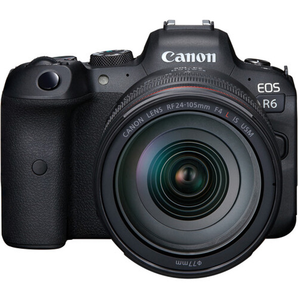 Canon EOS R6 with 24-105mm f/4L Lens (With R Adapter)