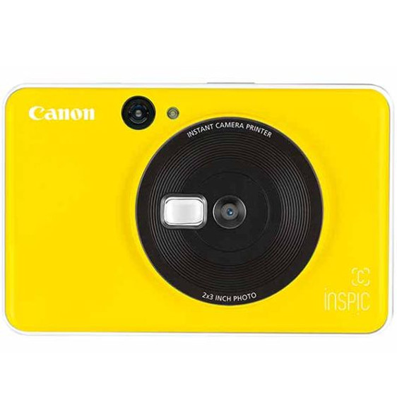 Canon Inspic C Instant Camera/Printer (Yellow)