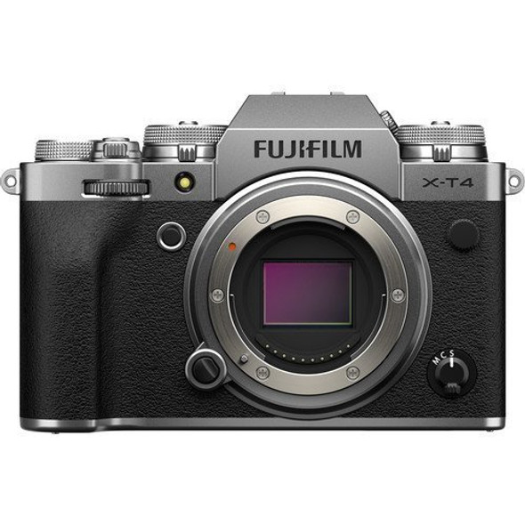 FUJIFILM X-T4 (Body) (Silver) (Kit Box)