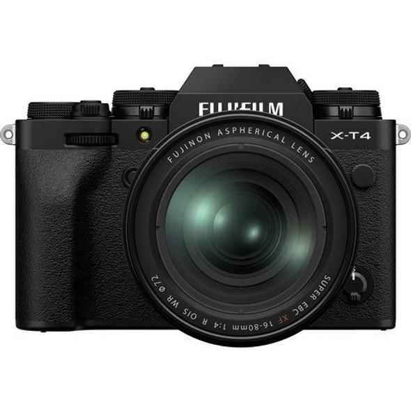 FUJIFILM X-T4 with 16-80mm Lens (Black)