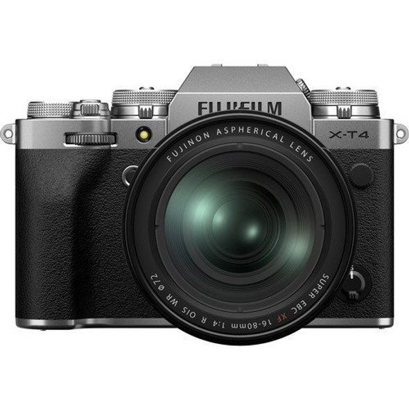 FUJIFILM X-T4 with 16-80mm Lens (Silver)