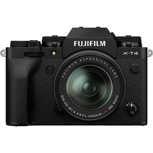 FUJIFILM X-T4 with 18-55mm Lens (Black)