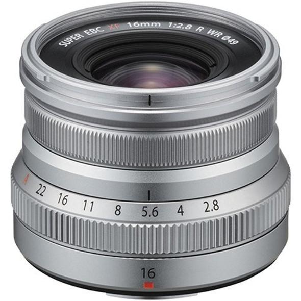 FUJIFILM XF 16mm f/2.8 R WR (Silver)