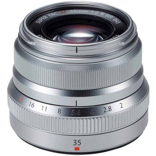 Fusion XF 35mm f/2 R WR (Silver)