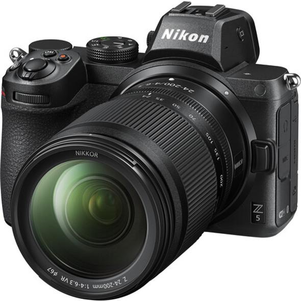 Nikon Z5 with Z 24-200mm VR Lens