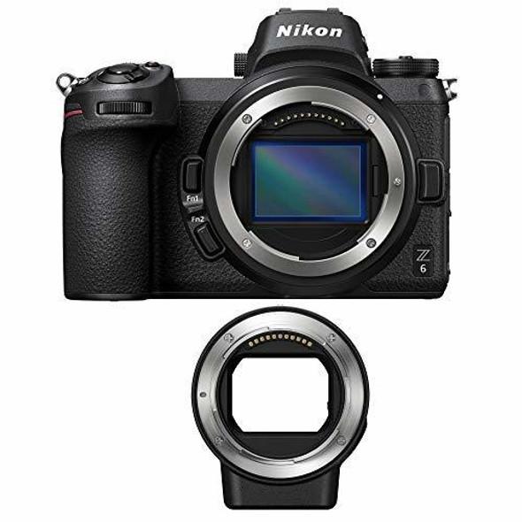 Nikon Z6 (Body) (with FTZ Adapter)