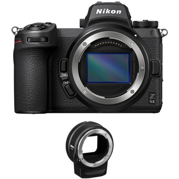 Nikon Z6 II (Body) with FTZ Adapter