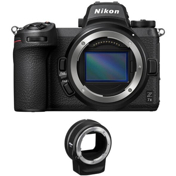 Nikon Z7 with FTZ adapter (KB)