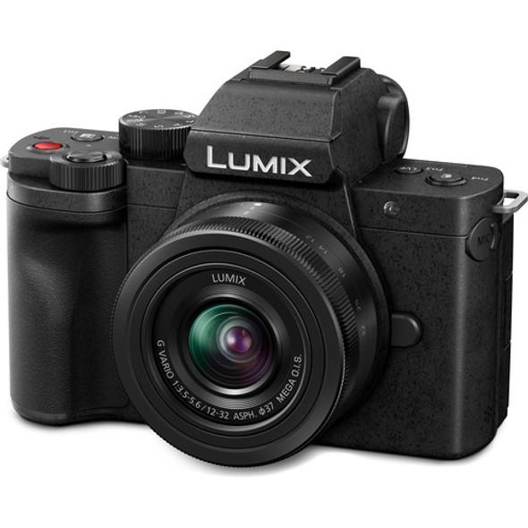 Panasonic Lumix DC-G100V with 12-32mm Lens and Tripod Grip