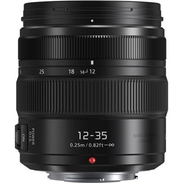 Panasonic Lumix G X Vario 12-35mm f/2.8 II ASPH. POWER O.I.S. Lens (HHSA12035E)