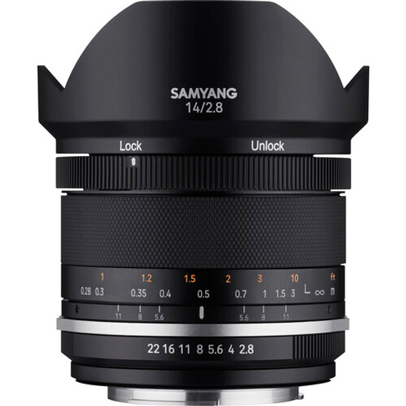 Samyang MF 14mm f/2.8 MK2 (Canon EF)