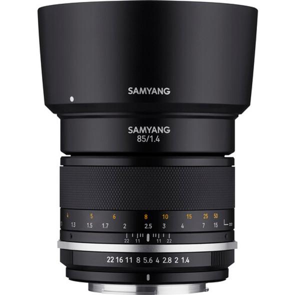 Samyang MF 85mm f/1.4 MK2 (Canon EF)