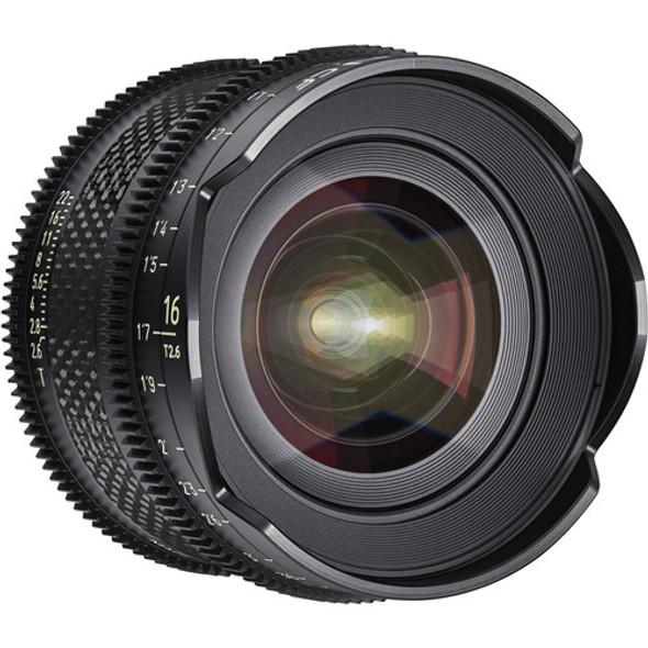 Samyang Xeen CF 16mm T2.6 Pro Cine Lens (PL Mount)