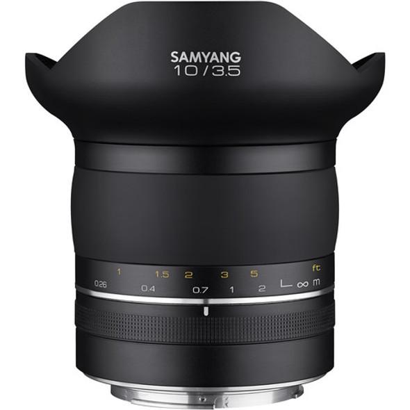 Samyang XP 10mm f/3.5 (Canon EF)