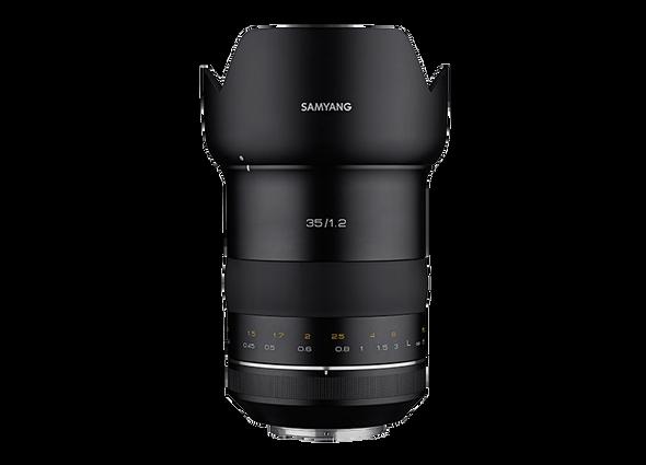 Samyang XP 35mm f/1.2 (Canon EF)