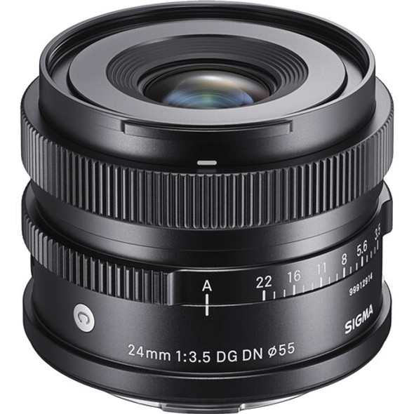 Sigma 24mm f/3.5 DG DN Contemporary Lens for Leica L