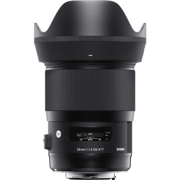 Sigma 28mm f/1.4 DG HSM Art Lens for Nikon F