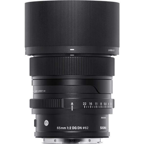 Sigma 65mm f/2 DG DN Contemporary Lens for Sony E