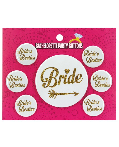 Bachelorette Party Buttons