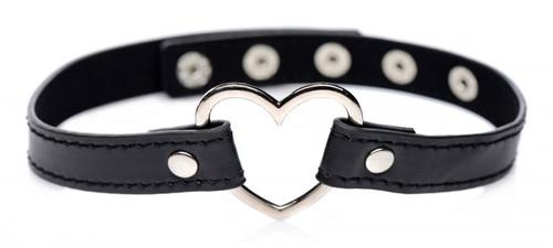 Dark Heart Chrome Heart Choker