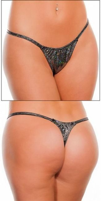 Holo Low Rise T-Back Thongs (More Colors)