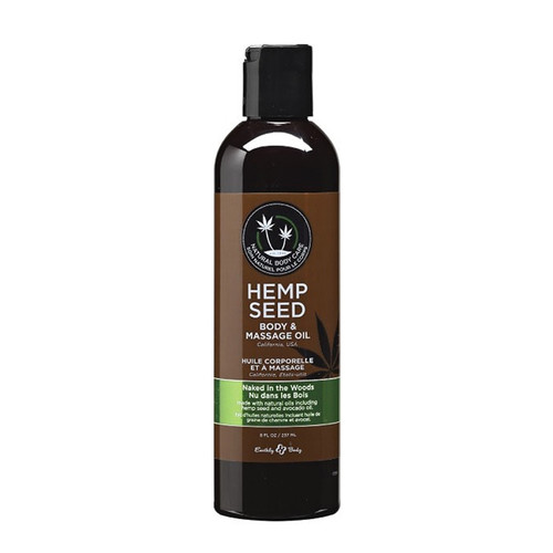 Hemp Seed Massage Oil (Four Scents)