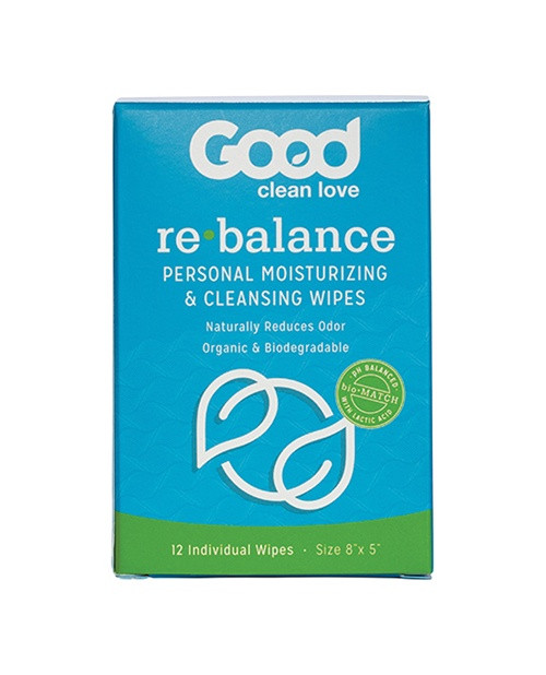 Re-Balance Personal Moisturizing and Cleansing Wipes