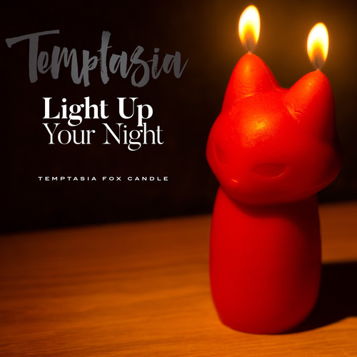 Temptasia Fox Drip Candle