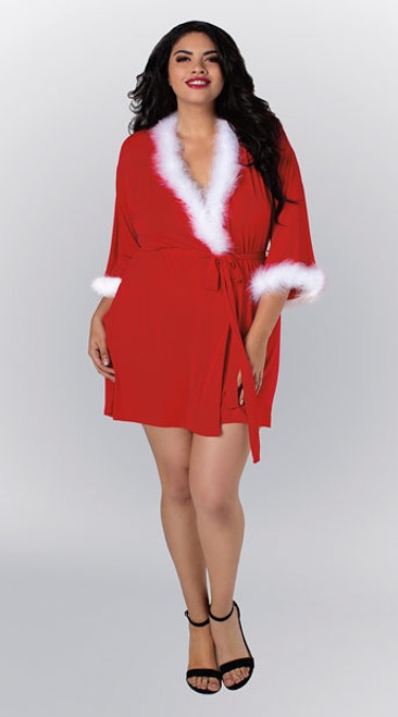 Holiday Robe in Plus