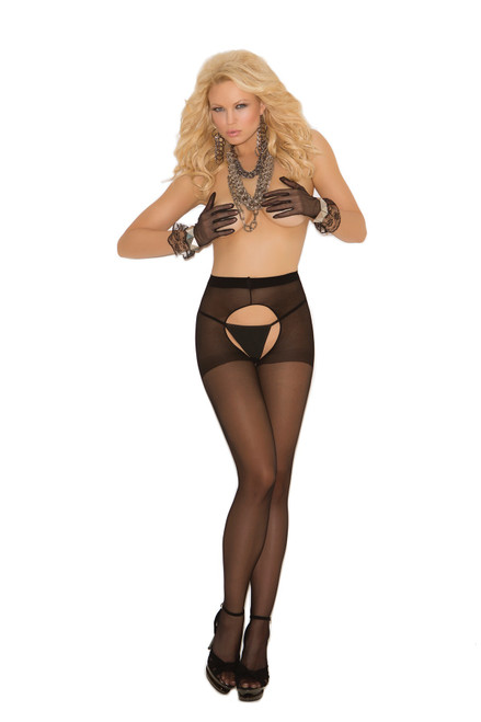 Crotchless Pantyhose (More Colors)
