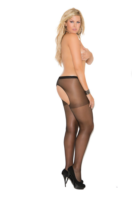 Queen Crotchless Pantyhose (More Colors)