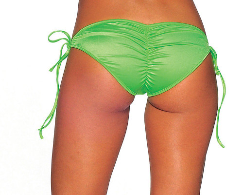 Tie Side Scrunch Bottom (More Colors)