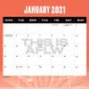 2021 AFLW Calendar