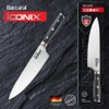 Western Bulldogs Baccarat Iconix Chefs Knife 20cm