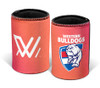 Western Bulldogs 2021 AFLW Can Cooler - Pink Ombre