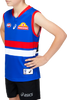 2021 Asics Western Bulldogs Home Guernsey - Youth