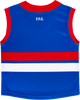 2021 Asics Western Bulldogs Home Guernsey - Infant