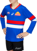 2021 Asics Western Bulldogs L/S Home Guernsey - Youth