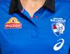 2021 Western Bulldogs Asics Media Polo - Ladies
