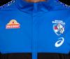 2021 Western Bulldogs Asics Travel Jacket