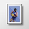 Caleb Daniel Geometric Print - Framed A4