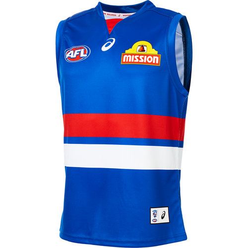 2019 Western Bulldogs Adult Home Guernsey
