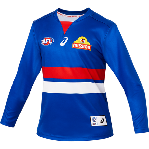 Western Bulldogs Youth Home Guernsey - Long Sleeve