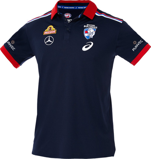 Western Bulldogs 2020 Mens Media Polo