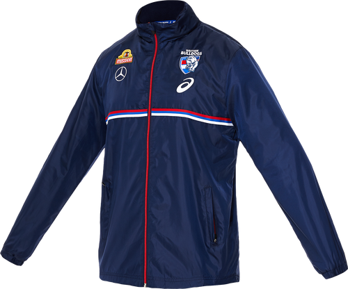 Western Bulldogs 2020 Wet Weather Jacket Mens