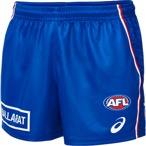 Western Bulldogs Home Shorts Mens