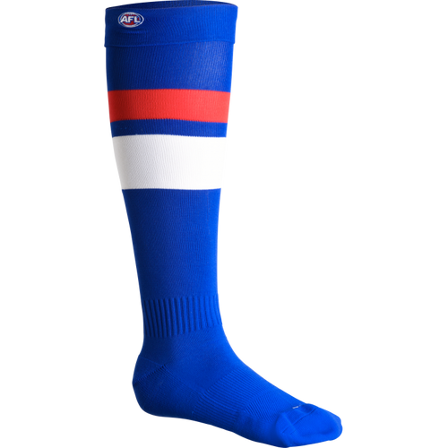 Western Bulldogs Mens Home Football Socks