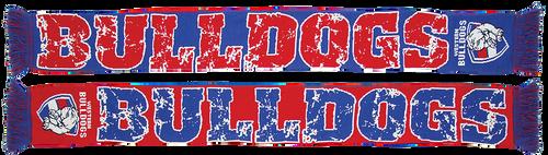 Western Bulldogs Impact Jacquard Scarf