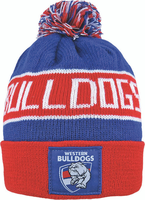 Western Bulldogs Bar Beanie