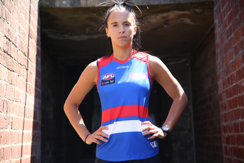 Western Bulldogs AFLW Home Guernsey Youth
